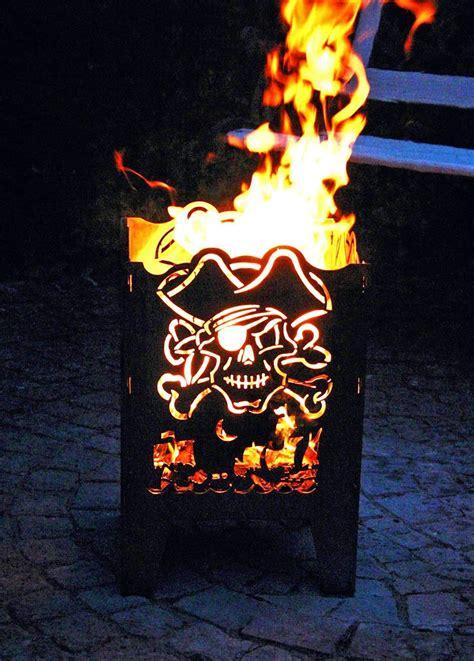 Holz Für Feuerkorb by Feuerkorb Pirat Edler Feuerkorb Designfeuerkorb