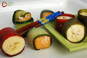 Party Food: Fruit Sushi | Healthy Ideas for Kids