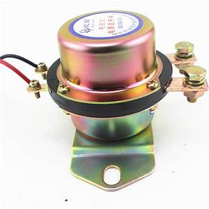 Car Battery Switch 2pcs Manual Control Disconnect Latching
