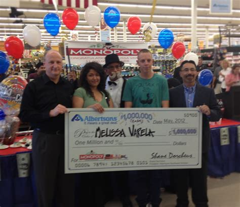 Albertsons » Customer Collects $1 Million in Monopoly ...