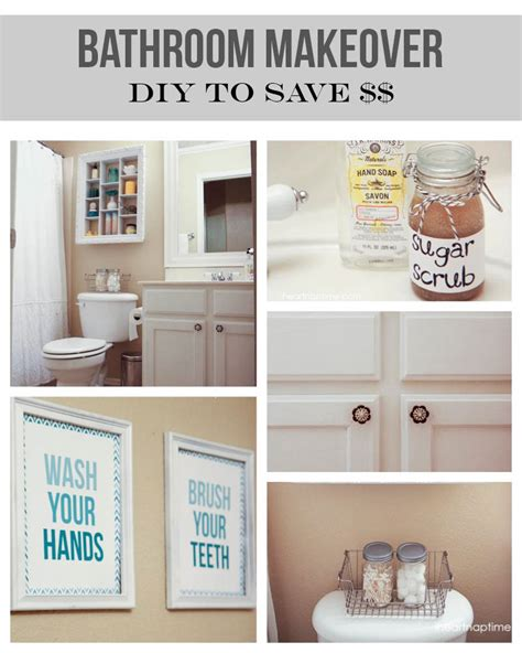Inexpensive Bathroom Decorating Ideas by 12 Budget Friendly Diy Remodeling Projects For Your Bathroom