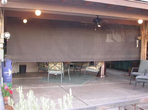 roll shades for patio roll patio shades aaa sun