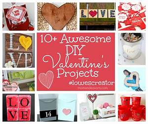 DIY Valentine's Projects #lowescreator