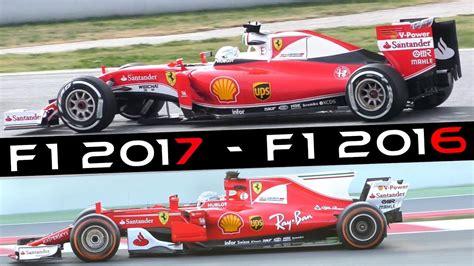 formula 3 vs formula 1 formula 1 f1 2017 sound ferrari sf70 h vs sf16 h f1