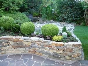 Steinmauer Garten Bilder : steinmauer als blickfang und sichtschutz im garten 40 ideen ~ Bigdaddyawards.com Haus und Dekorationen