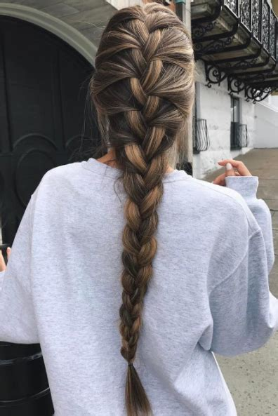 french braid hair tutorials  beginners