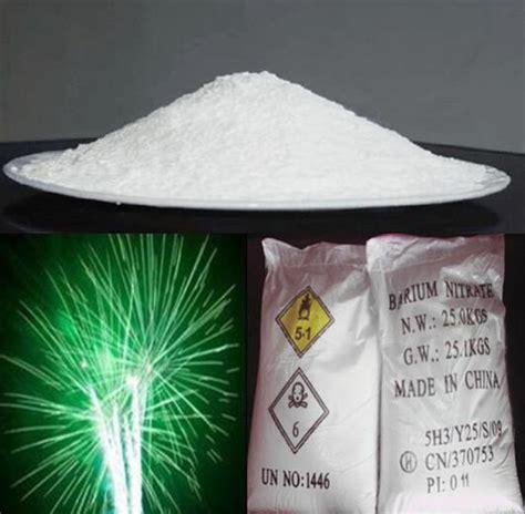 china barium nitrate  fireworks manufacturers