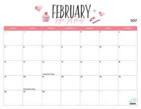 2017 printable calendar for imom