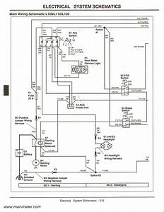 John Deere L120 Electrical Schematic