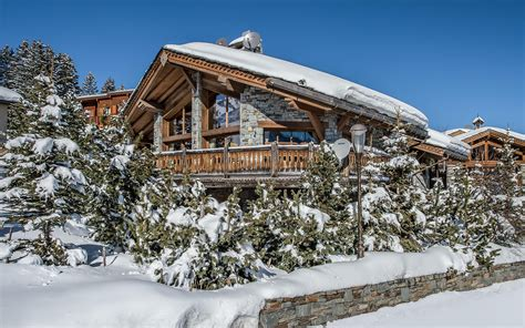 luxury ski chalet chalet totara courchevel 1850 firefly collection