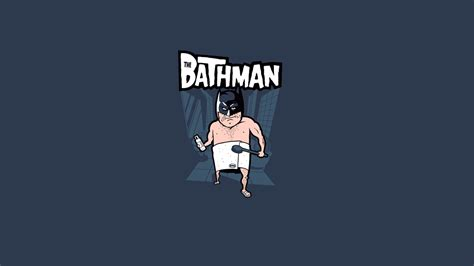 Funny Bathman Picture Wallpapers Hd / Desktop And Mobile