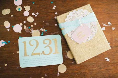 Surprise New Year's Eve Wedding by Lovely Little Details