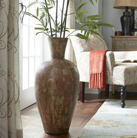 large vases  living room decor roy home design
