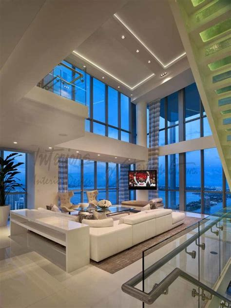 story penthouse miami contemporary living room