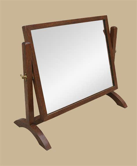 petit miroir sur pied miroir psych 233 ancien miroir en bois