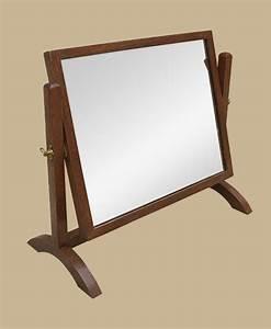 Petit Miroir Sur Pied : petit miroir sur pied miroir psych ancien miroir en bois ~ Teatrodelosmanantiales.com Idées de Décoration