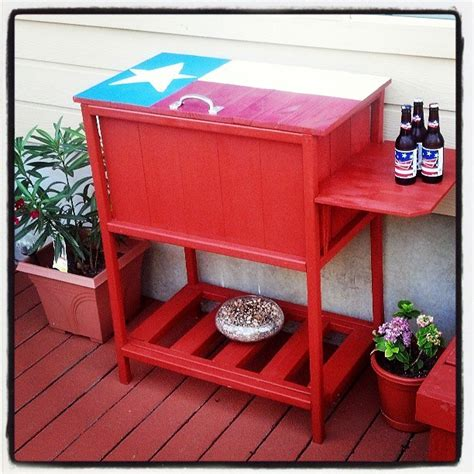 ana white texas size wooden cooler diy projects