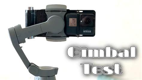 gopro hero  black dji osmo mobile  gimbal  test footage youtube