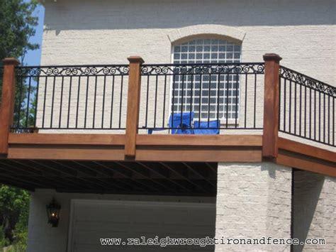 chapel hill nc custom wrought iron railings raleigh