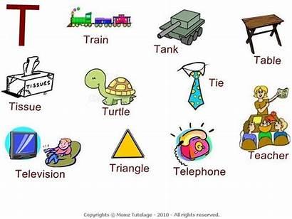 Words Alphabet Worksheets Letter Start Preschool Sound