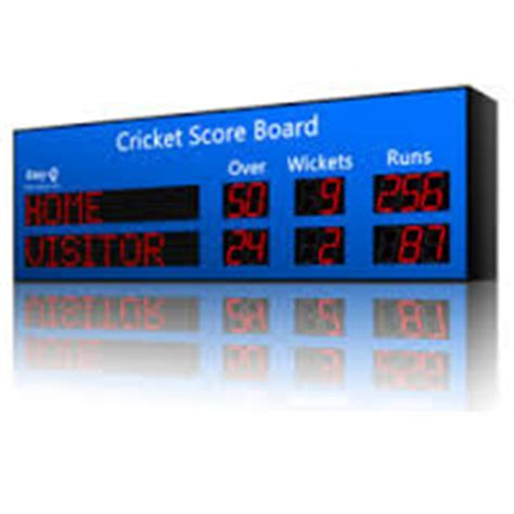 Electronic Scoreboard Manufacturers Suppliers Exporters