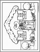 Coloring Pages Adult Bounce Gingerbread Printable Houses Colorwithfuzzy Colouring Adults Getcolorings Pdfs Customize Simple Holiday Dog sketch template