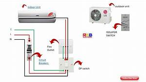 Single Phase Split Ac Indoor Outdoor Wiring Diagram Ryb Wiring Diagram