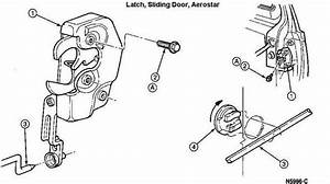 Aerostar Sliding Door Latch Assembly 264a32