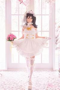 nico yazawa wedding dress cosplay by seirinvalliere on With cosplay wedding dress