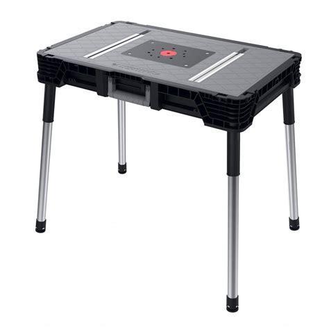 Husky 1.8 ft. x 3 ft. Portable Jobsite Workbench 225047