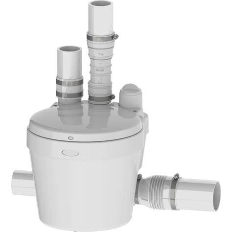 saniflo for kitchen sink saniflo saniswift 0 3 hp grey water 021 the home depot 5071