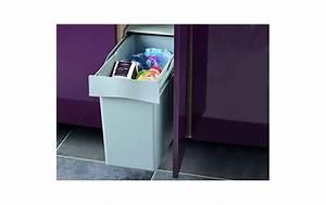 Meuble 30 Cm De Large : poubelle monobac pour meuble de 30cm 30l cuisifix ~ Teatrodelosmanantiales.com Idées de Décoration