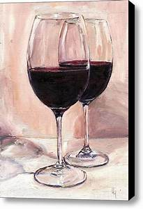 Red wines, Canvas prints and Art oil on Pinterest