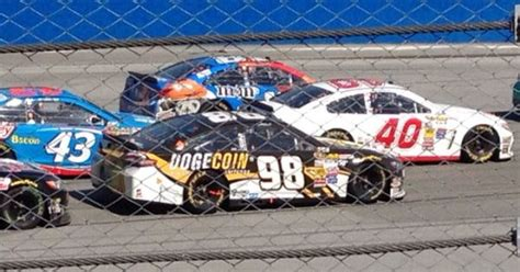 Josh Wise Places 20th in Talladega with His Dogecoin Car ...
