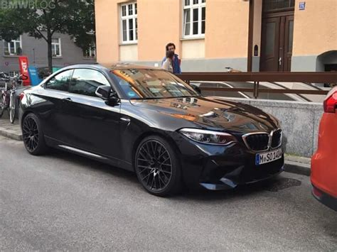 spied bmw m2 competition in munich