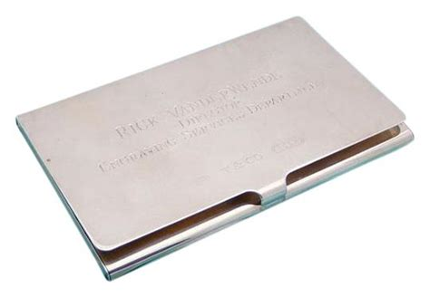Tiffany & Co. Silver Sterling Business Card Holder Print Your Own Business Cards App Staples Online Canada Best Quality Australia Post Nominals On Visiting Samples Urgent Auckland Dimensions For Arbonne
