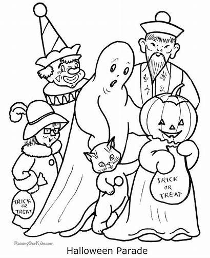 Ghost Coloring Pages Halloween Costume Printable