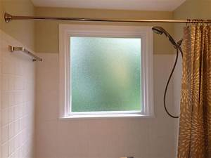 What to do if you have a window in your shower for Bathroom window glass styles