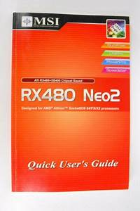 Msi Rx480 Neo2 Quick User Guide Manual Only 2005