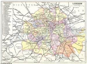 Detailed Map of London City