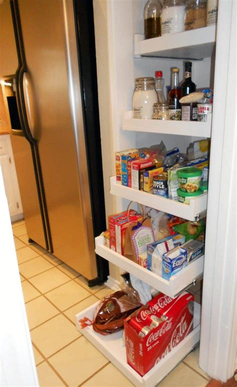how to build pull out shelves for kitchen cabinets how to build pull out pantry shelves diy projects for 9884