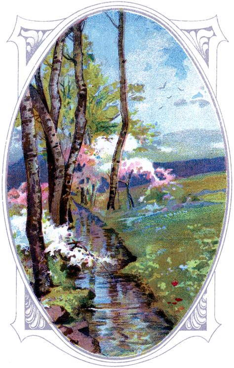 pretty landscape image  graphics fairy