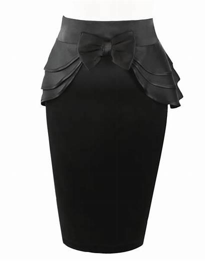 Amour Visitar Peplum Skirt