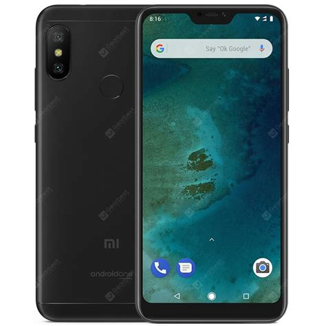 gearbest usa xiaomi mi a2 lite 4g phablet global version 169 99 fast shipping