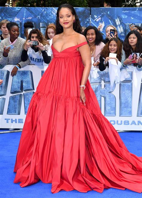 Rihanna's Valerian Red Carpet And After Party Outfit
