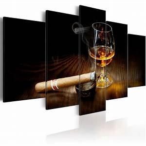 Bilder Xxl Leinwand : leinwand bilder xxl fertig aufgespannt bild cognac zigarre 030106 16 ebay ~ Frokenaadalensverden.com Haus und Dekorationen