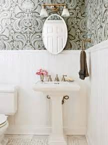 wallpaper ideas for bathrooms wallpaper for the powder room the inspired room