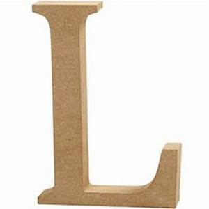 Mdf Wooden Letter L 13 Cm Hobbycraft
