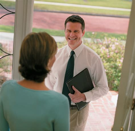 at the door are you prepared for the pushy door to door sales