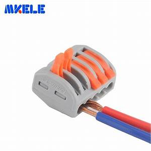 10pcs Universal Compact Fast Wire Wiring Connector With